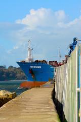 Bow of Bro Designer (wok smuggler) Tags: boat ship plymouth bow brodesigner