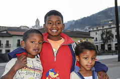 Three kids (pedro katz) Tags: ecuador quito
