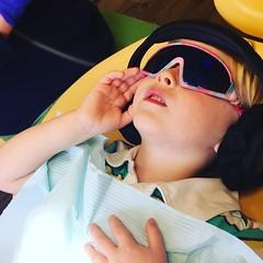 214/366 (grilljam) Tags: iphone 366days august2016 summer seamus 4yrs dentist checkup cooldude watchingagentoso
