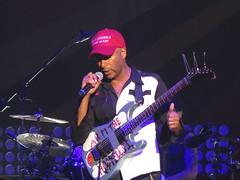 Prophets of Rage - Tom Morello (Thomas Baptiste Morello), Chuck D (Carlton Douglas Ridenhour), B-Real (Louis Freese), Brad Wilk (Bradley J. Wilk), Tim Commerford (Timothy Robert Commerford) & DJ Lord (Lord Aswod) (Peter Hutchins) Tags: prophetsofrage prophets rage tom morello chuck d breal brad wilk tim commerford dj lord tommorello chuckd bradwilk timcommerford djlord eaglebankarena fairfax va