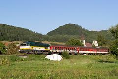 754055, REx782, Luatn, 23. 8. 2016 (Somatko) Tags: zssk zsr 754 055 rex 782 geravy lucatin vlak train railway zeleznica outdoor landscape grassland renatka
