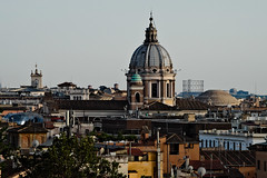 Roma (That_Smiling_Face) Tags: roof tetto rome gasometro chiesa dome church roma latium italy