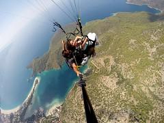 Freedom like a bird. (seydayldrm) Tags: fly fethiye ldeniz paragliding turkey trkiye colorsinourworld