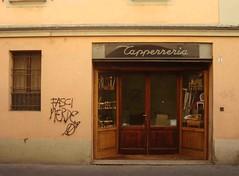Caff. (Karla Matyov) Tags: caf coffe caff bolonia shop