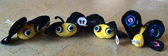 Four times Camelia (WendyGA) Tags: perl6 perl camelia butterfly logo stuffedtoy