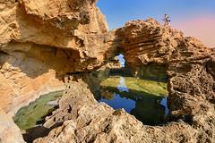Piscinas Cova Tallada (roli_photos) Tags: rocas acantilado mar piscinas agua amanecer montaero mochilero senderista denia alicante nikon d600