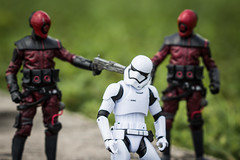 Any Last Words, Trooper?  Part 2 (Vimlossus) Tags: acba starwars action blackseries figure force stormtroopers toy toyphotography