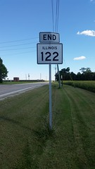 122-eend (paulthemapguy) Tags: end 122 illinois highway route sign