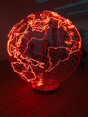 Hot Spot 2013, Mona Hatoum (jonnydredge) Tags: mona hatoum art installations conceptual political