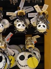 Disneyland Visit 2016-08-21 - Downtown Disney - World of Disney - Jack Skellington Keychains (drj1828) Tags: us disneyland dlr anaheim california visit 2016 downtowndisney worldofdisney