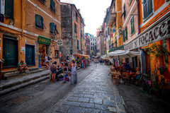Lazy afternoon, Vernazza (BlindThirdEye) Tags: vernazza cinqueterre italy laspezia streetphotography wideangle hdr travel travelphotography flickrtravelaward