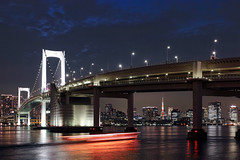 Rainbow Bridge (takanorimutoh) Tags: japan tokyo tokyotower nightscape nightview