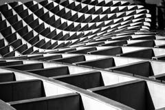 IMG_0336 (Roberto Audenino) Tags: parasol pattern bw blackwhite siviglia spain spagna architecture