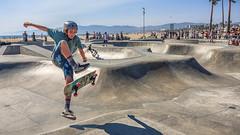 Venice Beach Skate Park (Candice, AKA Bessie Smith) Tags: california losangeles venice venicebeach veniceskatepark beach outdoors skatepark skaterboarders skaters unitedstates