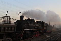 I_B_IMG_9116 (florian_grupp) Tags: asia china steam train railway railroad fuxin liaoning sy coal mine 282 mikado steamlocomotive locomotive