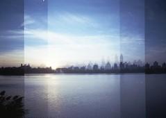 cityscape (beth maciorowski) Tags: 35mm film dianamini nyc lomo analog