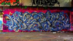 Oldenburg - (street: Melkbrink) 57th picture / Graffiti, street art (tusuwe.groeber) Tags: projekt project lovelycity graffiti germany deutschland lowersaxony oldenburg city streetart niedersachsen farbig farben favorit colourful colour sony sonyphotographing nex7 bunt red rot art gebäude building gelb grün green yellow konzept concept wall wand halloffame wandgestaltung lager lagerhalle hall halle melkbrink