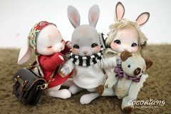 'Tobi' has been released! (Cocoriang) Tags: cocoriang bjd bjdrabbit bunny rabbit doll tobi