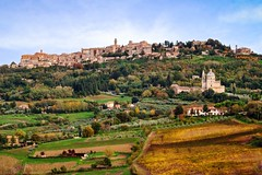 Montepulciano, Tuscany, Italy (POGGIO ALLA ROCCA) Tags: agriculture arbia asciano blue clays cloud country countryside creta crete cypress dorcia environment europe farm farmland field flower grassland green hill hillside house italian italy landscape meadow montepulciano nature orcia outdoor pastoral plant road rural scenery scenic seasonal senesi siena sky tuscan tuscany val valley view village