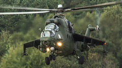 Mi-24V (kamil_olszowy) Tags: mi24w mi24v hind gunship helicopter polish army aviation epmi mirosawiec