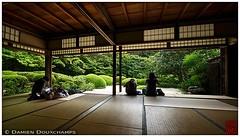 A zen rest in Shisendo temple (Kyoto) (Damien Douxchamps) Tags: japan  japon kansai  kinki  kyoto   northernsakyo temple     shisendo shisendou jozanji jouzanji