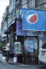 asaPunkfromBangkok (renoleon) Tags: punk bangkok thailande thailand pepsi rue street calle flickr d90 35mm blue
