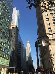 IMG_0756 (gundust) Tags: nyc ny usa september 2016 newyork newyorkcity manhattan architecture chryslerbuilding artdeco skyscraper spire lighting