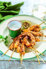 Grilled sambal Prawns 2 (Whisk Affair) Tags: prawns sambal malaysian snacks appetiser