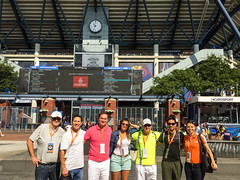 US-Open-2016-36 (fabergtourexperience) Tags: usopen tennis new york usa arthur ashe stadium stanislaswawrinka stan wawrinka novakdjokovic djokovic experience sporting events sunset sunny day