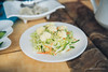 Salad (reubenteo) Tags: northkorea dprk food lunch dinner steamboat kimjongun kimjongil kimilsung korea asia delicacies