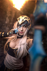 Ashe (azproduction) Tags: anime cosplay fotocon fotocon2016 game girl leagueoflegends ashe