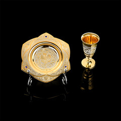 DSC_4213 (xj-8) Tags: goldenplate shotglass saucer
