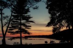 Sunset / Coucher de soleil (tofason) Tags: processedimage longexposure sunset coucherdesoleil plagedelajacquescartier expositionlongue