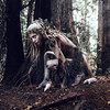 Neráidos (Kindra Nikole) Tags: fae fairy dryad portland antler gallery rats moss ivy forested fantasy dark surreal otherworldly gritty bark pacific northwest