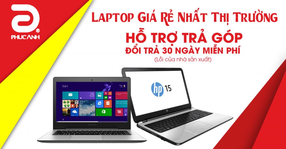 Mua laptop tại Phúc Anh – Giá rẻ nhất thị trường