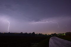Lightning Vosges (vincent.quennouelle) Tags: lightning lorraine lightningscape storm stormchase thunderstorm thunder tonerre stormchasing hailstorm hail vosges weather autumn road night dark