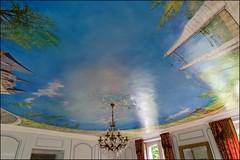 Plessis St Jean 89 (GK Sens-Yonne) Tags: plessissaintjean chteau fresque peinture yonne bourgogne lustre luminaire