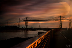 Transporter Bridge Newport (http://www.grazynabudzenphotography.co.uk/) Tags: transporter bridge newport south southwales wales water outdor ngc nature nikon natura sky mon beauty sunset skyscape seascape landscape landscapeseascape sescape cloudy color d5200 grazynaphotography dark bbcwales argus