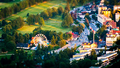 Ferris wheel (7-Ply) Tags: fun ferris tiltshift poland summer city