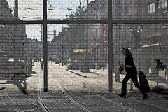 Many of us are already living in a zoo, and we are not the audience (arTARO) Tags: taro zoo wall wand isolation people menschen slum ghetto favela nogoarea