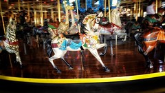 Carrousel Pretty Horse (Flickr Goot) Tags: october 2016 samsung galaxy s6 mansfield ohio richland county carrousel carousel
