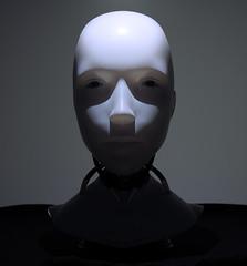 I, Robot, Sonny bust (Gorana Guiboud-Ribaud) Tags: lichtundschatten licht light schatten shadow photoart masterpiece masterpiecesofar portrait bust sonny irobot