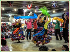Culture in Motion 1 (photo.po) Tags: marketsquare people tourist dancing culture mexicanculture colorful celebration tx