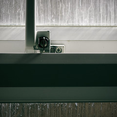 DSC_1698 (dan-morris) Tags: shadow sun white green window handle nikon key lock 1855mm dslr vr f3556g 1855mmf3556gvr d3100