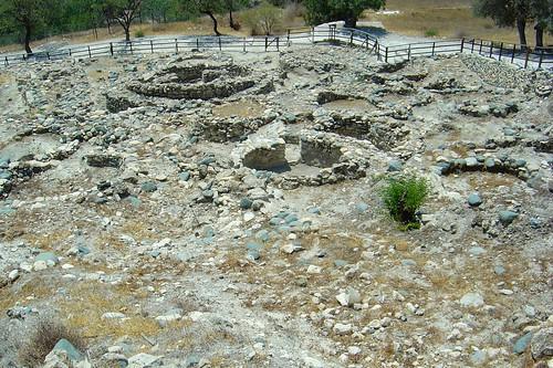 Ruins in Choirokoitia