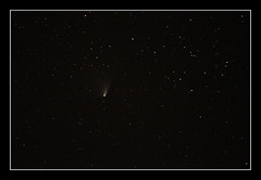 Comet C/2011 L4 (PANSTARRS) (Gary Blair) Tags: county ireland night nikon sigma giants northern comet causeway l4 antrim 70200mm d300 panstarrs c2011
