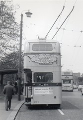 Apr-69 Bournemouth Corporation 278 YLJ 278 Bournemouth (Cheltonian1966) Tags: corporation bournemouth sunbeam 278 weymann mf2b ylj278