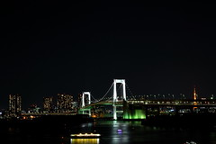 Rainbow Bridge (shin5963) Tags: bridge night tokyo odaiba nightview tokyobay rainbowbridge