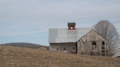 early spring in Rockingham VT (Pilgrim on this road - Bill Revill) Tags: barn rural vermont decay farm rustic vt rockingham