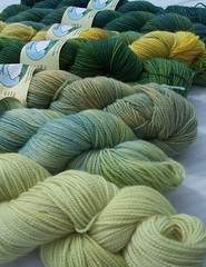 Green Sock Yarn (ShearedBliss) Tags: wool yarn dye dyeing fiber handdyed fiberarts naturaldye